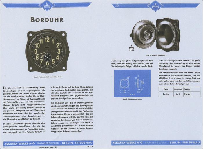 Askania | Lu 3 r | ref. Konrad Knirim - Military Timepieces