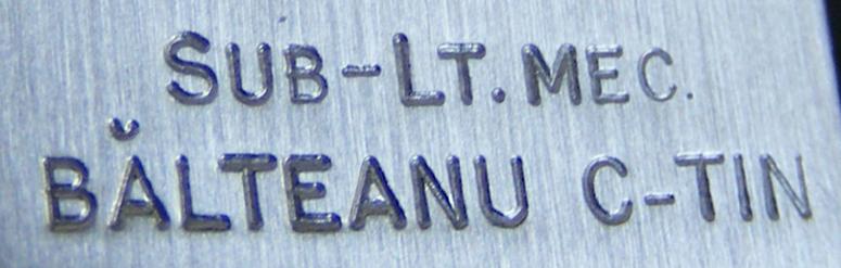 Longines promotia 1939 cal. 25.17 | C-tin Balteanu