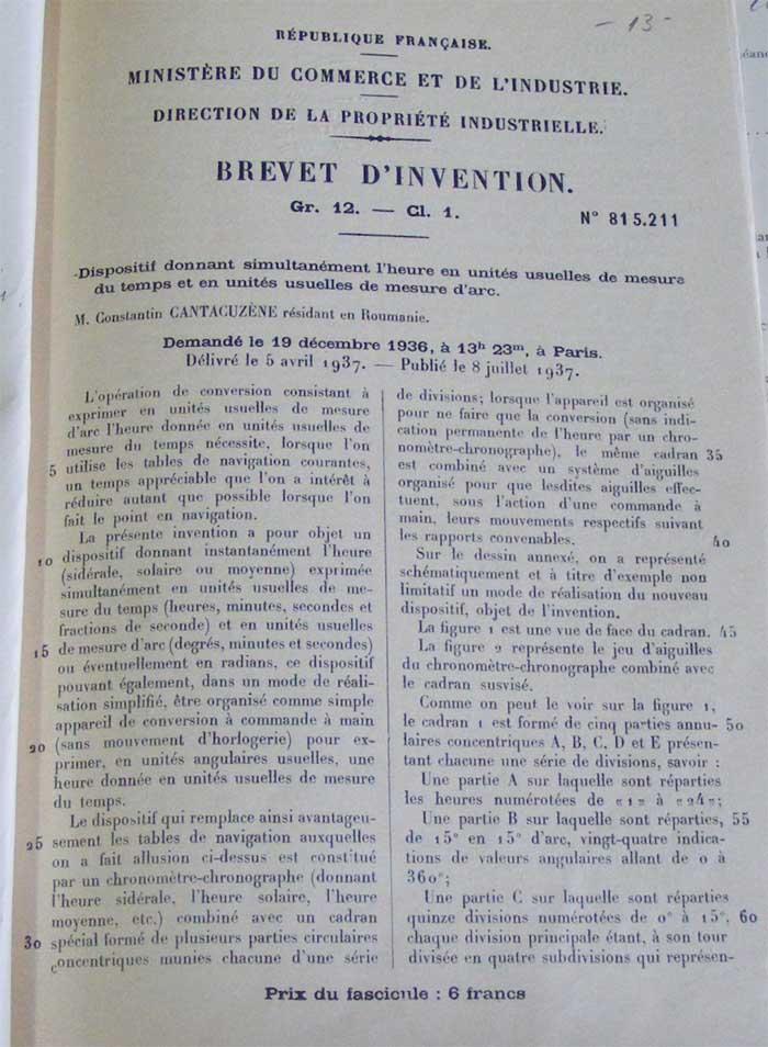 [3] Bazu Cantacuzino | brevet (3)