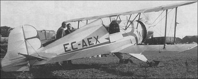 Bazu Cantacuzino and Bu-133 (foto credit: Aeromagazin)