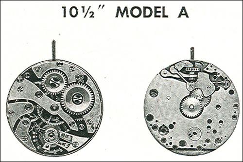 "Benrus 10 1/2"" model A"