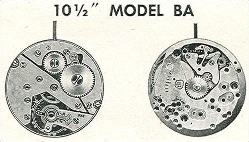 "Benrus 10 1/2"" model BA"