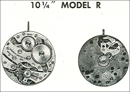 "Benrus 10 1/4"" model R"