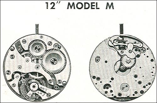 "Benrus 12"" model M"
