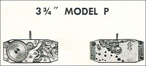"Benrus 3 3/4"" model P"