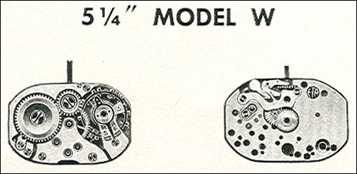 "Benrus 5 1/4"" model W"
