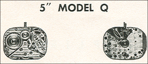 "Benrus 5"" model Q"