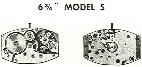 "Benrus 6 3/4"" model S"