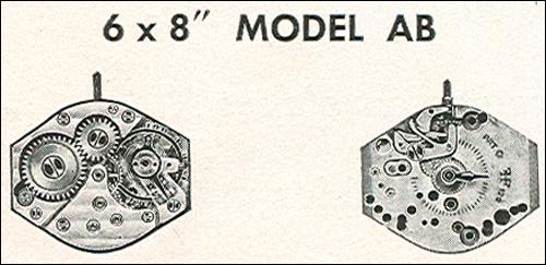 "Benrus 6 x 8"" model AB"