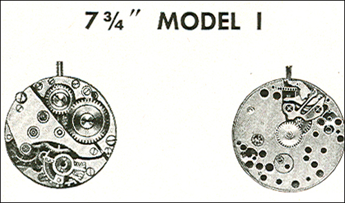"Benrus 7 3/4"" model I"