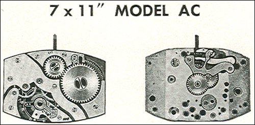 "Benrus 7 x 11"" model AC"