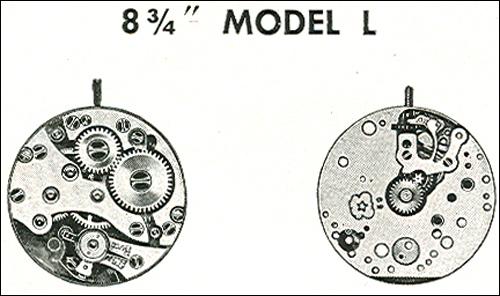 "Benrus 8 3/4"" model L"