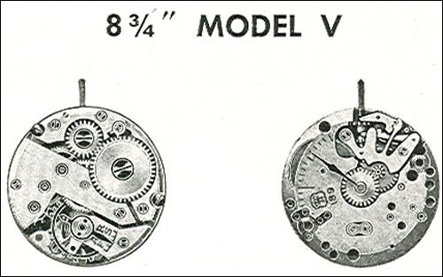"Benrus 8 3/4"" model V"