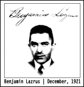 Benjamin Lazrus | 1920