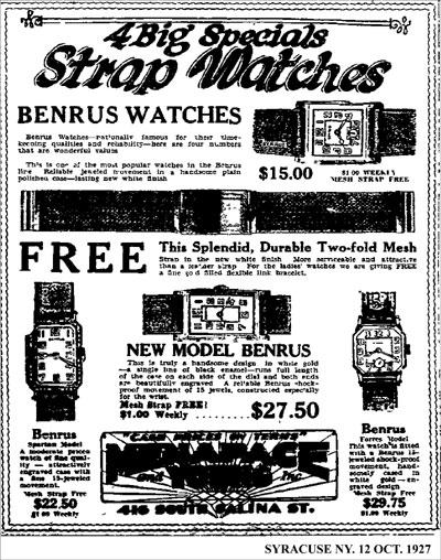 [4] ad Benrus | 1927