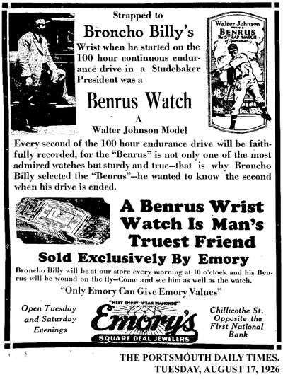 [7] ad Benrus | 1926