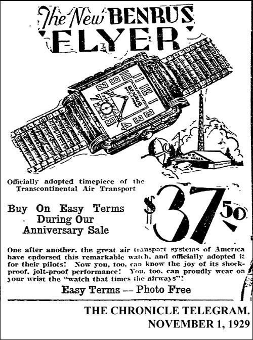 [10] Benrus Flyer | 1929