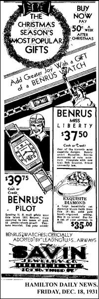 [11] Benrus Pilot | 1931