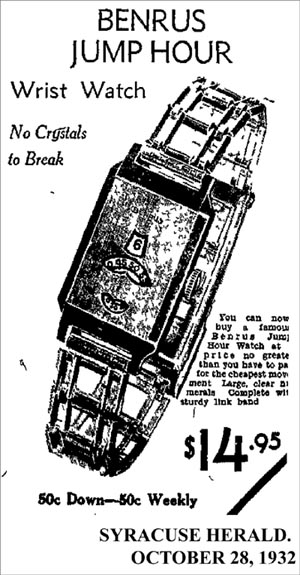 Benrus Jump Hour | 1932