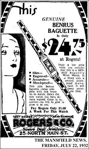 [12] Benrus Baguette | 1932