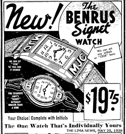Benrus Signet | 1938