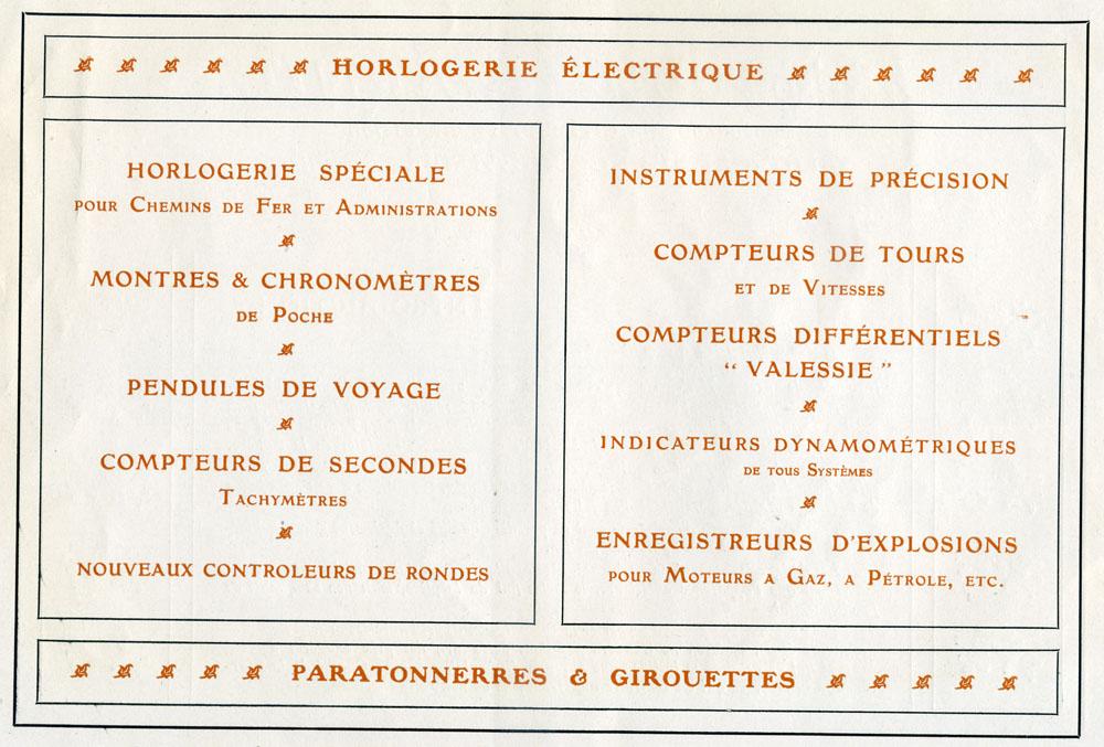 Paul Garnier | Blot-Garnier & Chevalier Succeseurs | portofoliu 1907
