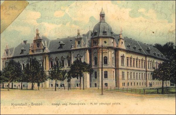 Palatul Finantelor la 1900 | Brasov