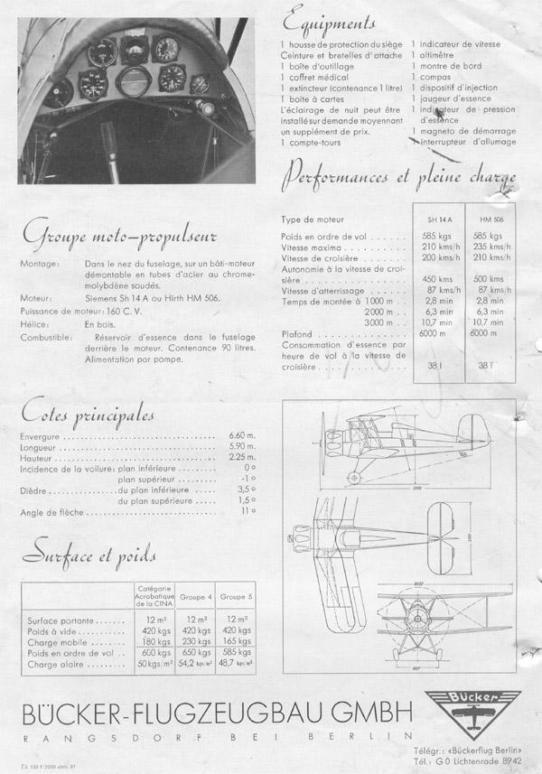 Bu-133 Jungmeister | 1937 (scanuri prin amabilitatea lui Dan Antoniu)