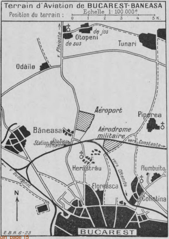 aeroportul Bucuresti - Baneasa | 1923