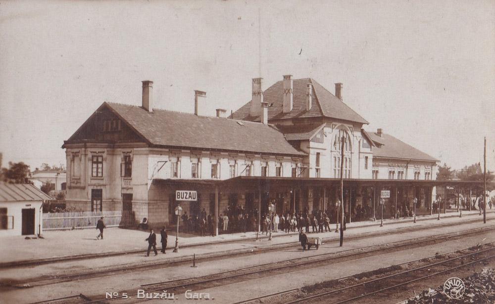 Buzau | gara in anii 1920