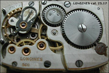 Longines cal. 25.17 (no center second variant)