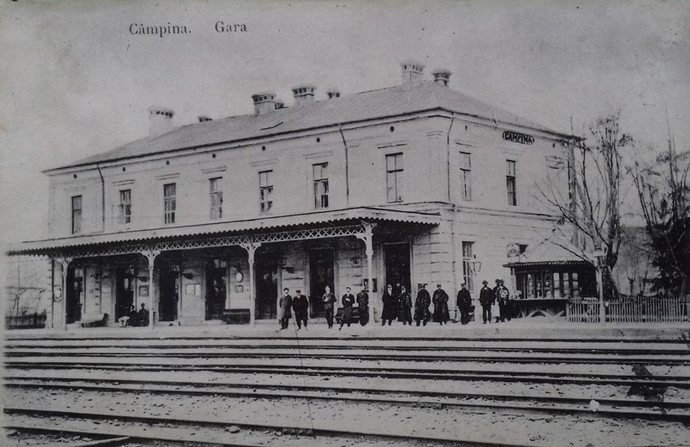 Campina | gara in 1910