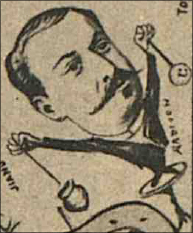 caricatura Theodor Radivon