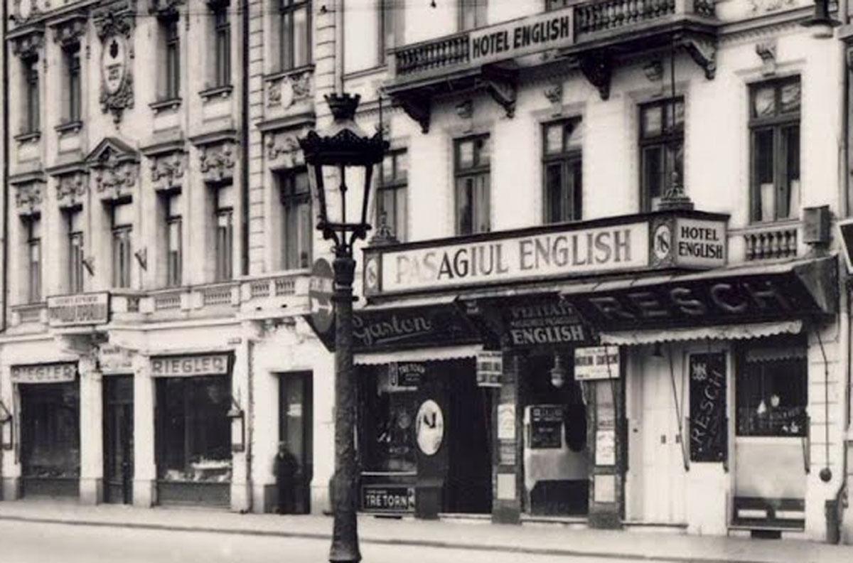 pravalia Resch - 1932 | Pasajul Englez - Bucuresti
