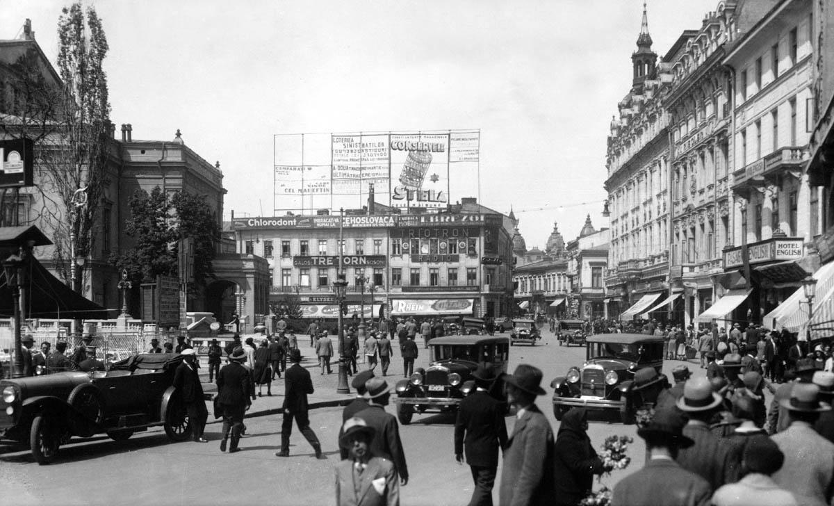 pravalia Resch - circa 1925 | Piata Teatrului - Bucuresti (sursa imagine: Sorin Margarit)