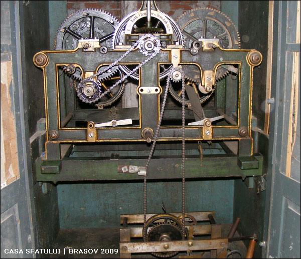 mecanism ceas | Casa Sfatului
