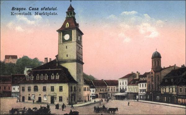 Casa Sfatului dupa 1910 | Brasov
