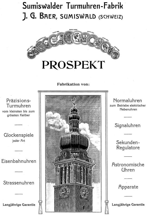J.G. Baer (Sumiswald) | catalog 1913