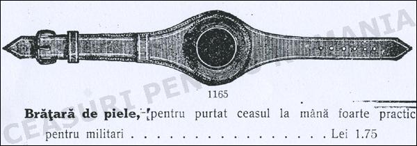 curea ceas 1900