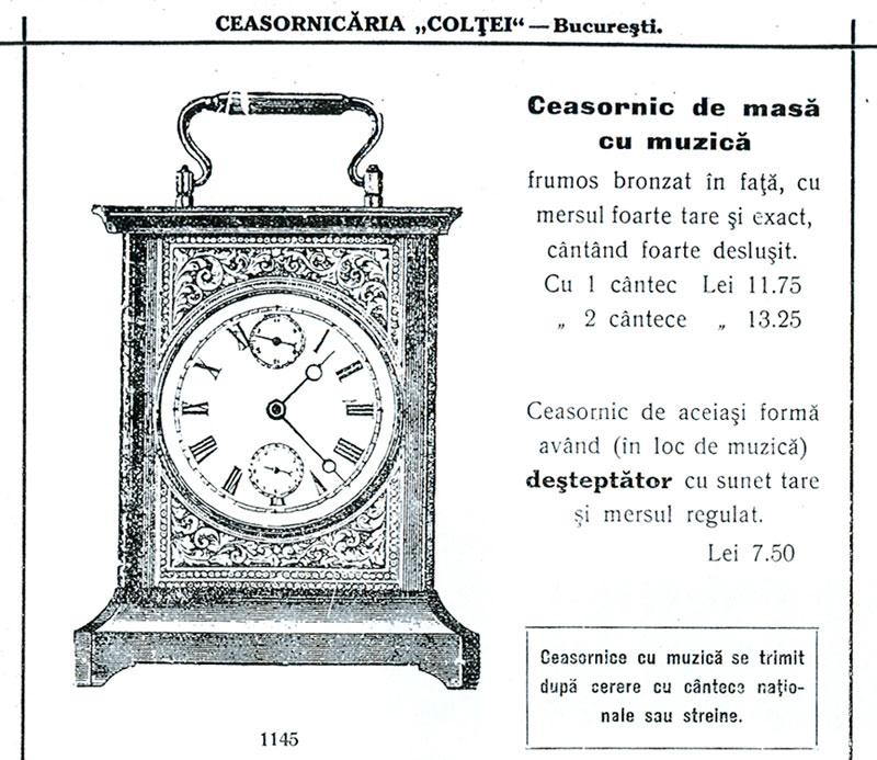 ceasornicaria Coletei | ceas muzical
