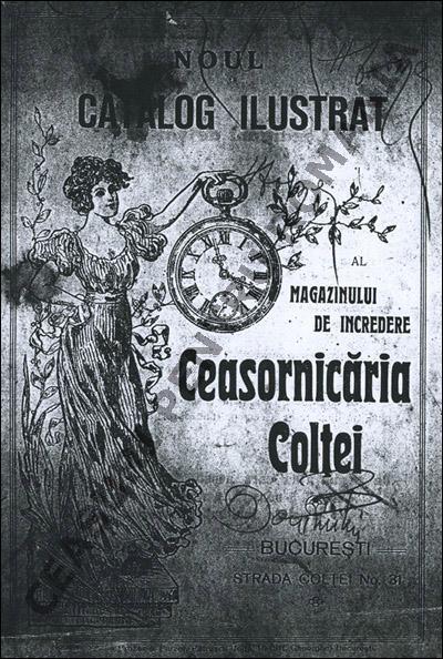 catalog Ceasornicaria Coltei | 1910