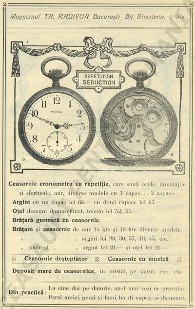 Catalogul Radivon | cca. 1920