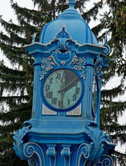 ceas public Braila | cadran spart | 2014