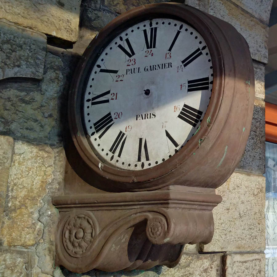 ceas Paul Garnier | varianta angulara (cu consola)