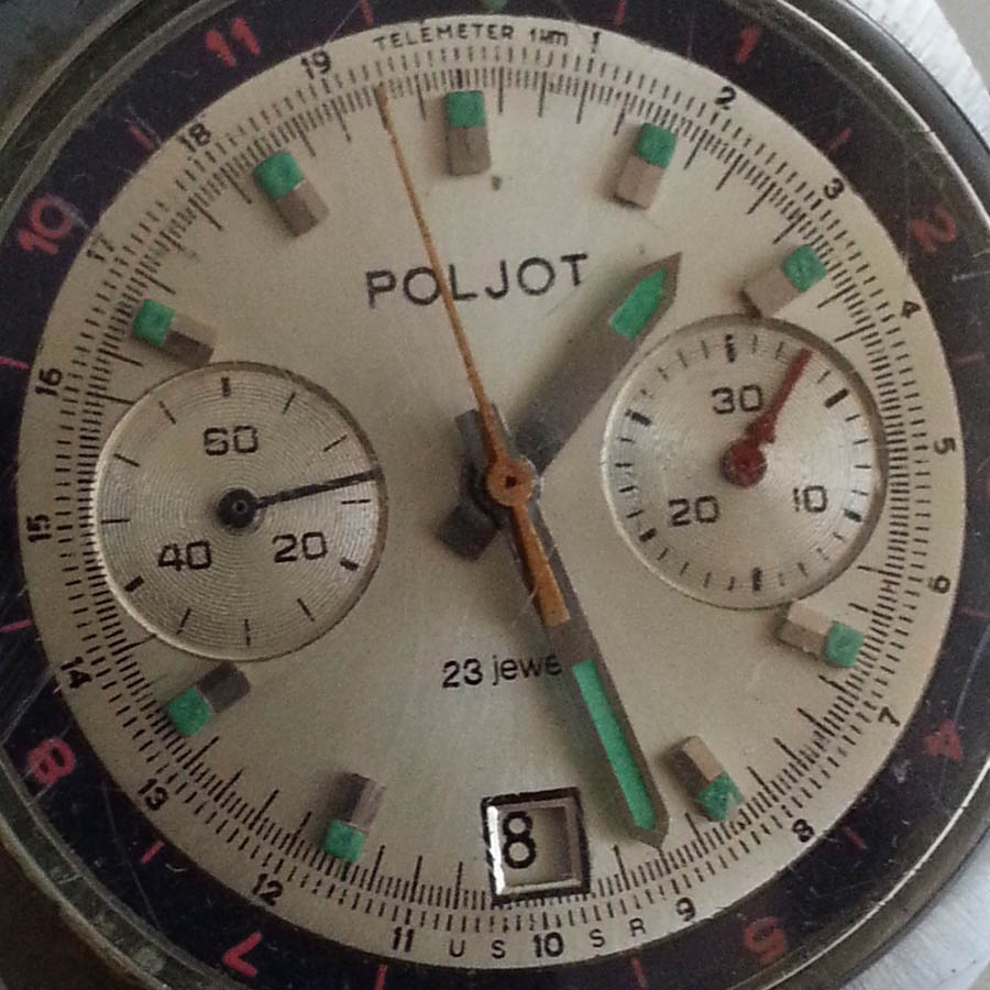 Dumitru Prunariu | Poljot chronograf cal. 3133