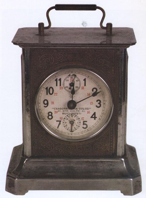 Ceasornicaria Coltei | Junghans alarma | Muzeul Bucuresti
