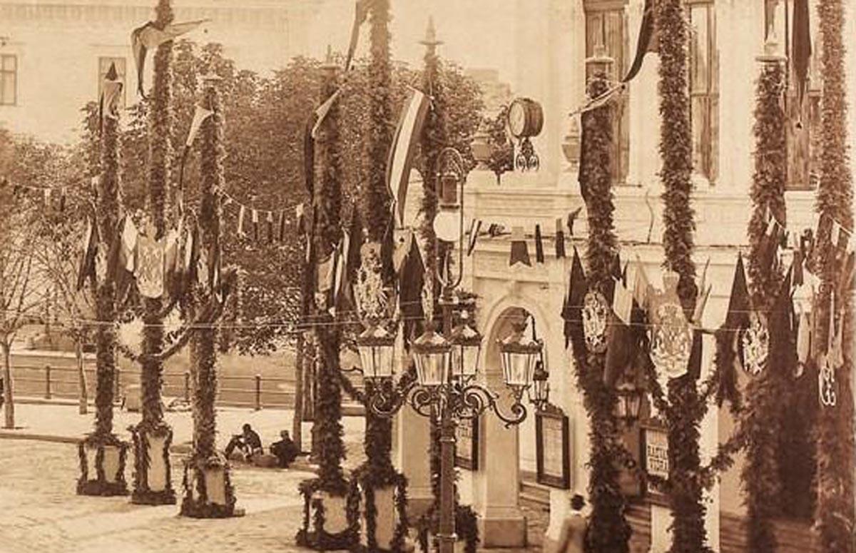 Teatrul National | foto - Ion Spirescu (1896)