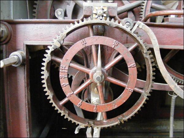 mecanism ceas - Biserica Neagra