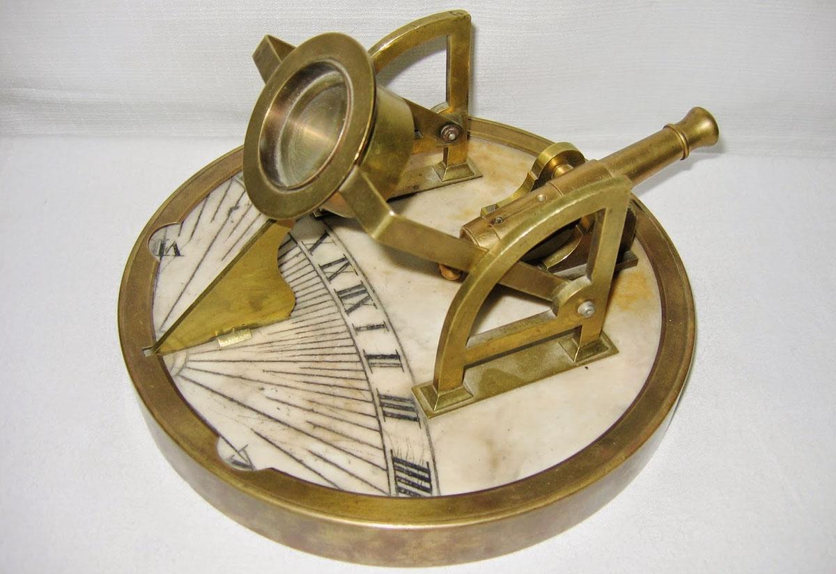 ceasornic solar - tun meridian | Muzeul Stefan Procopiu - Iasi