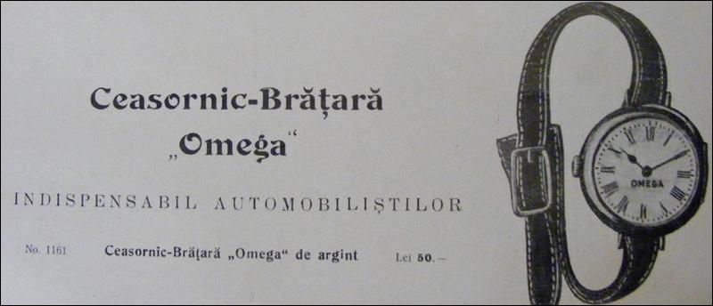 ceasornic-bratara Omega